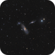 ARP286 - Virgo trio - NGC5566 5569 and 5560,                                Arnaud Peel