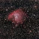NGC281, Pac-Man-NebulaFirstlight mit der A7S - A,                                Peter Schmitz