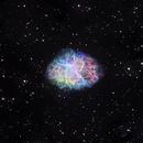 M1 Crab Nebula NGC1952,                                Alastairmk