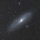 Andromeda galaxy M31,                                Joachim Plocinski