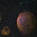 Sh2-216 - Sh2-221,                                AstroMichael