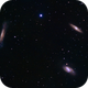 Leo Triplet Galaxies (M65, M66, and  NGC 3628),                                Kelvinmack