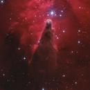 The cone nebula in H alpha RGB,                                Christoph Lichtblau