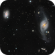 NGC3718 and Hickson 56,                                Lukasz Socha