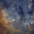 NGC7822 HA-S2-O3,                                Vincent