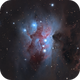 Running Man Nebula,                                drivingcat
