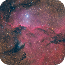 NGC 6188 - An Epic Fight Of Dragons - LRGB,                                Axel