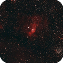 NGC 7635 - Bubble Nebula, M52, and NGC 7538,                                Mike Hislope