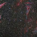 Veil Nebula, NGC6992-5 and NGC6960 3 mozaic,                                KAZUHIRO NONOMURA
