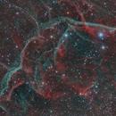 Vela SNR (RGB + Ha + OIII),                                Diego Cartes