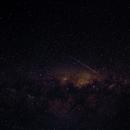 Milky Way with satellite/meteor,                                Chris Ryan