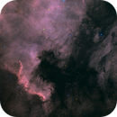 NGC7000 North America nebula + IC5070,                                Dagolaf