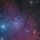 NGC2264 HaLRGB,                                Christian63
