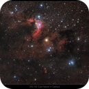 SH-2 155 Cave Nebula in Cepheus (RGB),                                Mike Oates