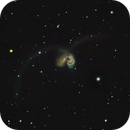 The Antenna Galaxies,                                Comatater