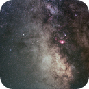 Milky way galactic center ,                                Michele Russo