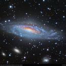 NGC 7331 - Unbarred Spiral Galaxy,                                Dhaval Brahmbhatt