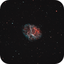 The Crab Nebula,                                Frank McMahon