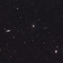 Virgo Cluster galaxies M90, M89 & M58,                                Dale Hollenbaugh