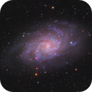 The Triangulum Galaxy M33,                                Hunter Harling