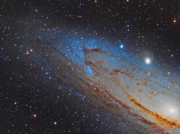 NGC 206 and Part of M31,                                Alberto Pisabarro
