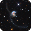 NGC4038 - Antennae galaxies (data shared by Oscar),                                Marco Favro