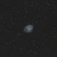 M1 / NGC 1952 / Crab Nebula - SHO - RGB-Stars,                                Falk Schiel