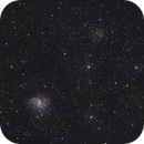 Fireworks-Galaxy NGC6946, NGC6939 (Melotte 231),                                Rolf Dietrich