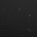 Leo's galaxies b&w,                                Marek Smiatacz