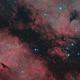 IC 1318 SHO and HOO, T150 f/5  /  ATIK ONE  /  AZEQ5,                                Pulsar59