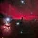 B33 Horsehead and Flame Nebula,                                midnight_lightning