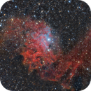 IC 405 & Flaming Star,                                Giuseppe Bertaglia