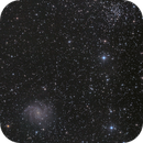 Supernova SN 2017 eaw in NGC6946 + open cluster NGC6939,                                antares47110815