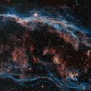 Mosaic panel 1 - NGC6960 - East Veil nebula,                                Arnaud Peel