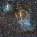 Lobster Claw Nebula   Sharpless 2-157,                                Edward Overstreet