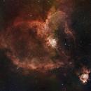 Heart Nebula,                                Chris Kagy
