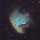 NGC 281 - Pacman Nebula SHO,                                Mike Hislope