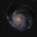 M101: Pinwheel Galaxy,                                Derek Santiago