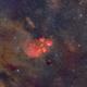 Cat's Paw - NGC6334 - Sadr Chili,                                Arnaud Peel