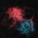 SH2-132 - The Lion Nebula,                                Bob J
