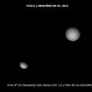 Vénus and Mercury,                                Franco