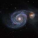 M 51 in RGBHa,                                Alex Roberts