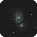M51 Whirlpool Galaxy,                                Tom Zaranek