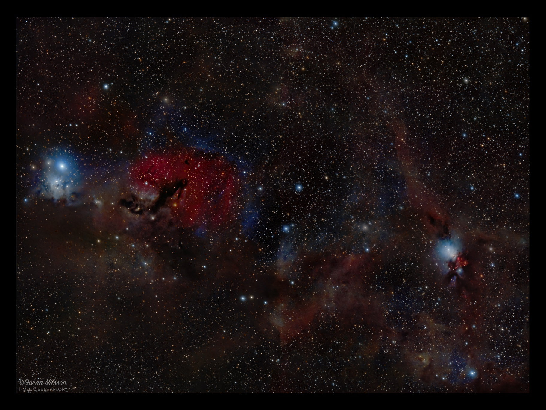 From IC348 to NGC1333 with a strawberry inbetween,                                Göran Nilsson