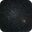 M35 and NGC 2158,                                Roberto Marinoni