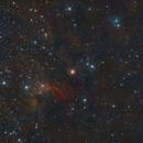 Sh2-155 Cave Nebula,                                francopanetta