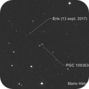 Dwarf planet Eris,                                mario_hebert