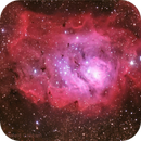 Lagoon nebula,                                Daniele Gasparri