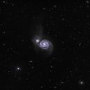Whirlpool Galaxy,                                Seth