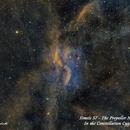 Simeis 57 - The Propeller Nebula  SHO,                                Paul Borchardt